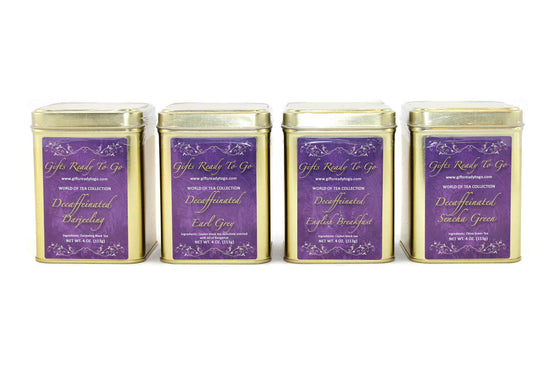 Gifts Ready To Go Gold Collection - Decaffeinated Tea Gift Set