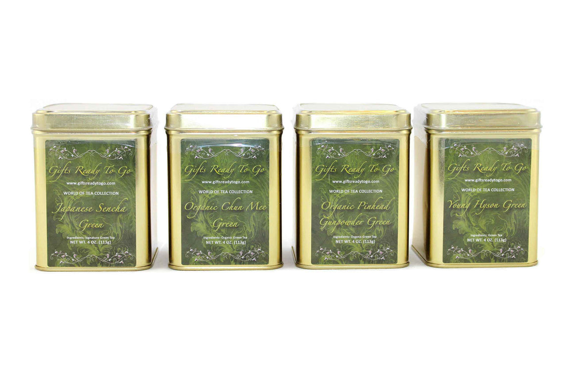 Gifts Ready To Go Gold Collection - Green Tea Gift Set