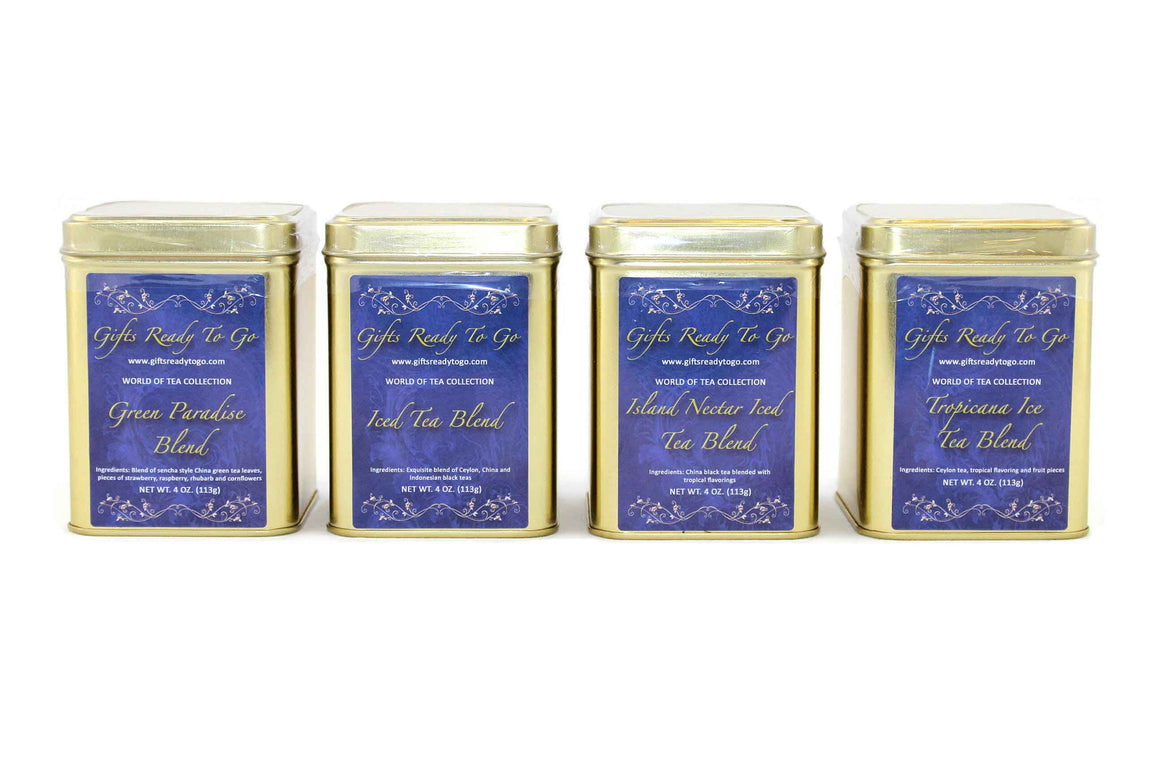 Gifts Ready To Go Gold Collection - Iced Tea Gift Set