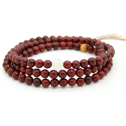Yoga Meditation Mantra Wood Bracelet