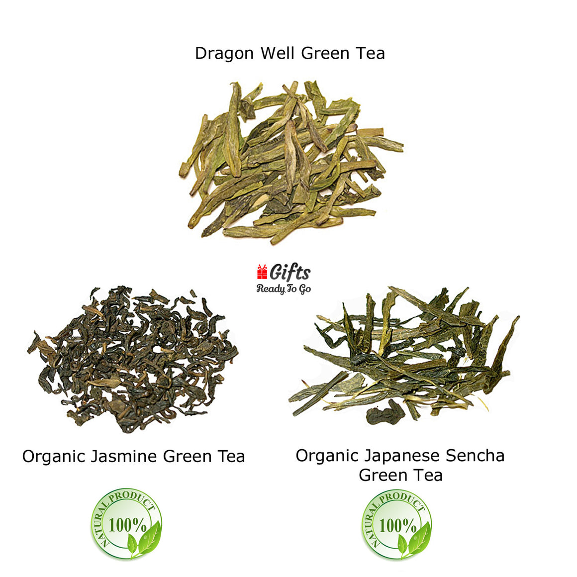 Gifts Ready To Go Premium Green Tea Gift Set