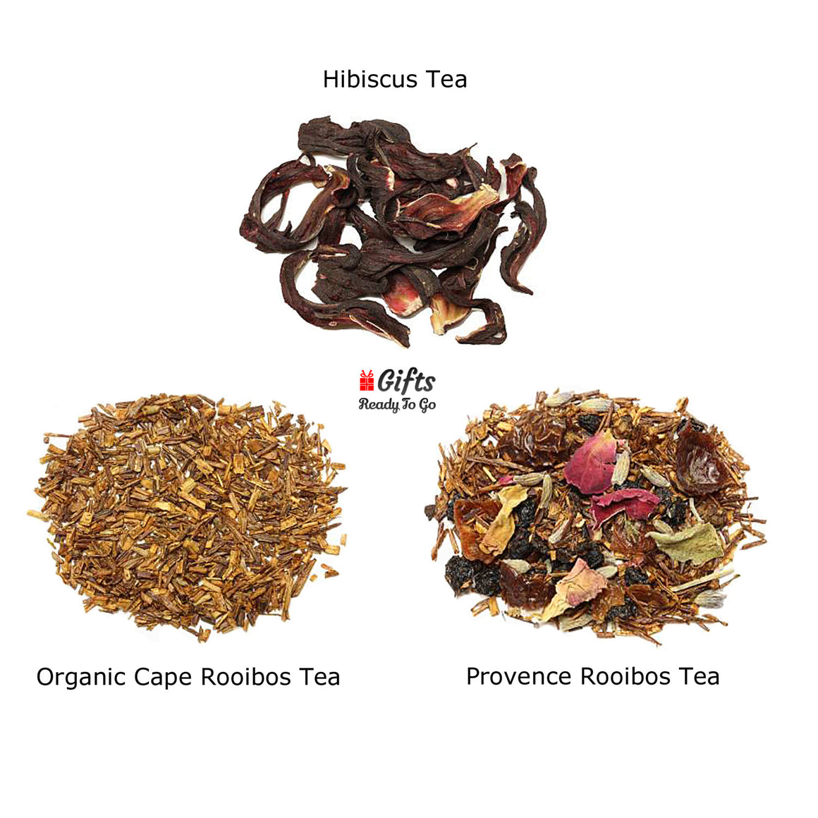 Set 5 Mixed Herbal Collection (Hibiscus & Rooibos)