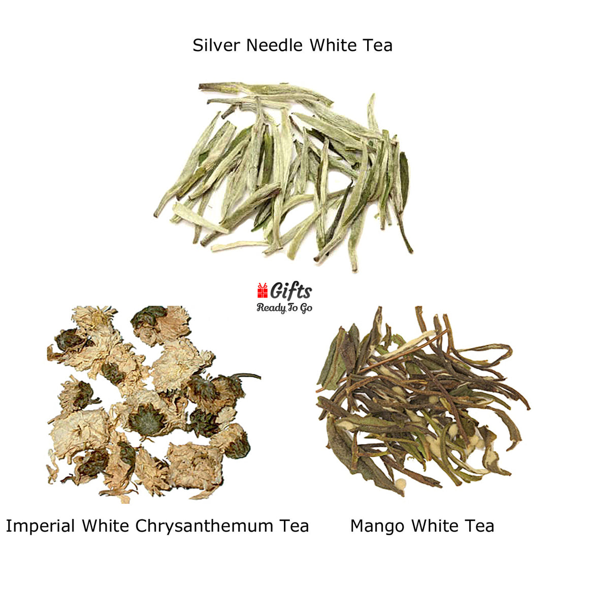Set 3 White Tea Collection