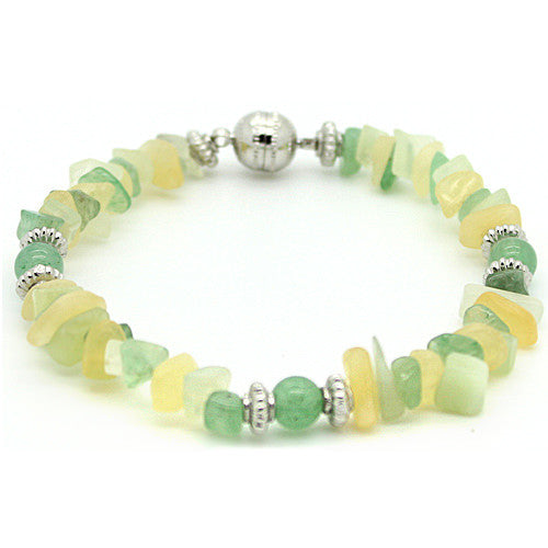 Lucky Aventurine and New Jade Bracelet