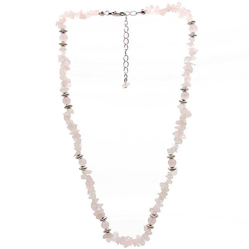 Love Rose Quartz Necklace