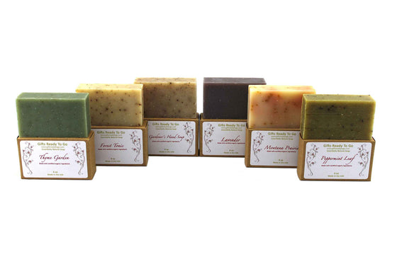 Organic Freshen-Up Soap Gift Set