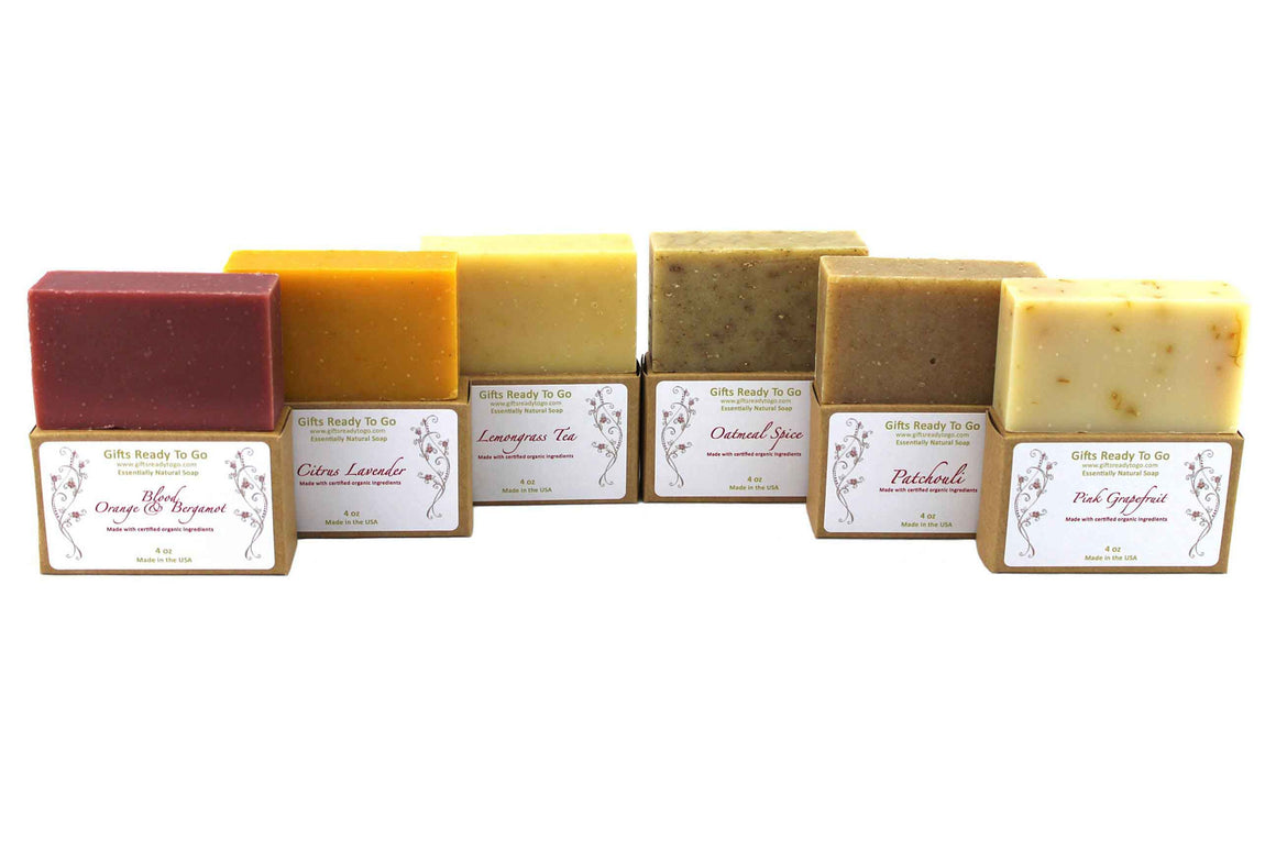 Organic Live Well Soap Gift Set