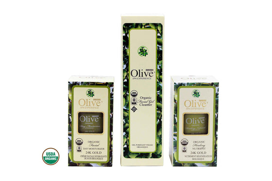 Organic Skincare Replenishing Gift Set
