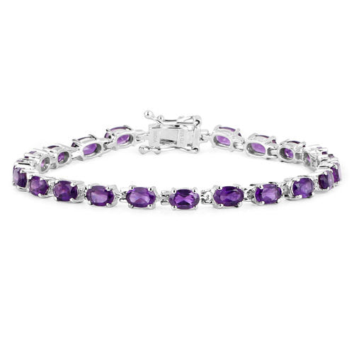 Amethyst Bracelet in Sterling Picture 2
