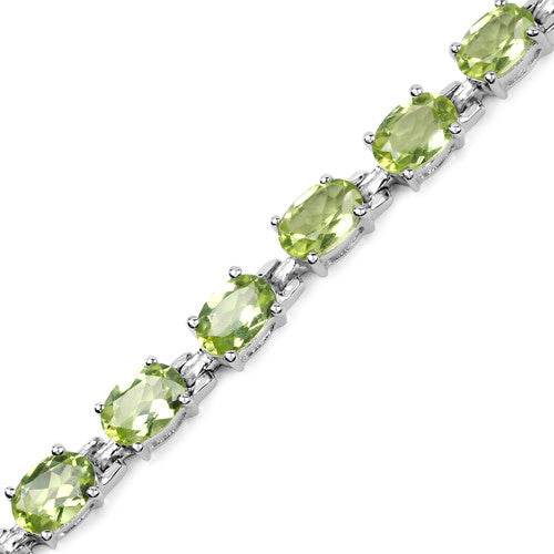 Peridot Bracelet in Sterling Silver Picture 3