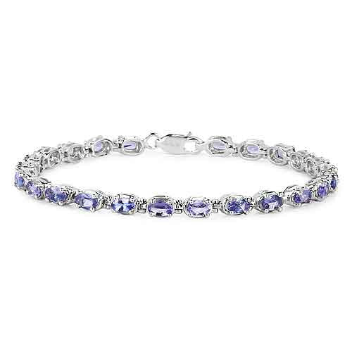 Tanzanite Bracelet in Sterling Silver Picture 2