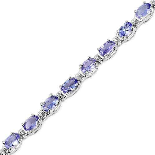 Tanzanite Bracelet in Sterling Silver Picture 3
