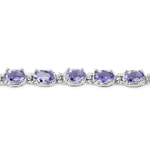 Tanzanite Bracelet in Sterling Silver Picture 4