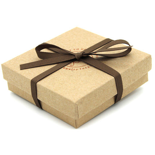 Eco Gift Box with Ribbon