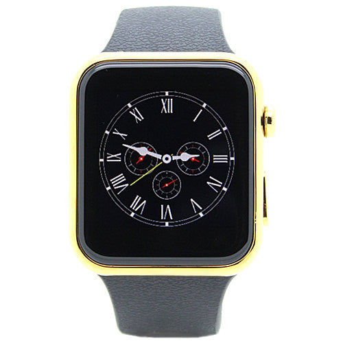 Activity Smartwatch Touchscreen Bluetooth 42mm Gold Front View