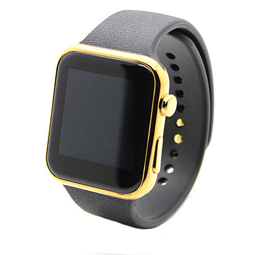 Activity Smartwatch Touchscreen Bluetooth 42mm Gold Dial