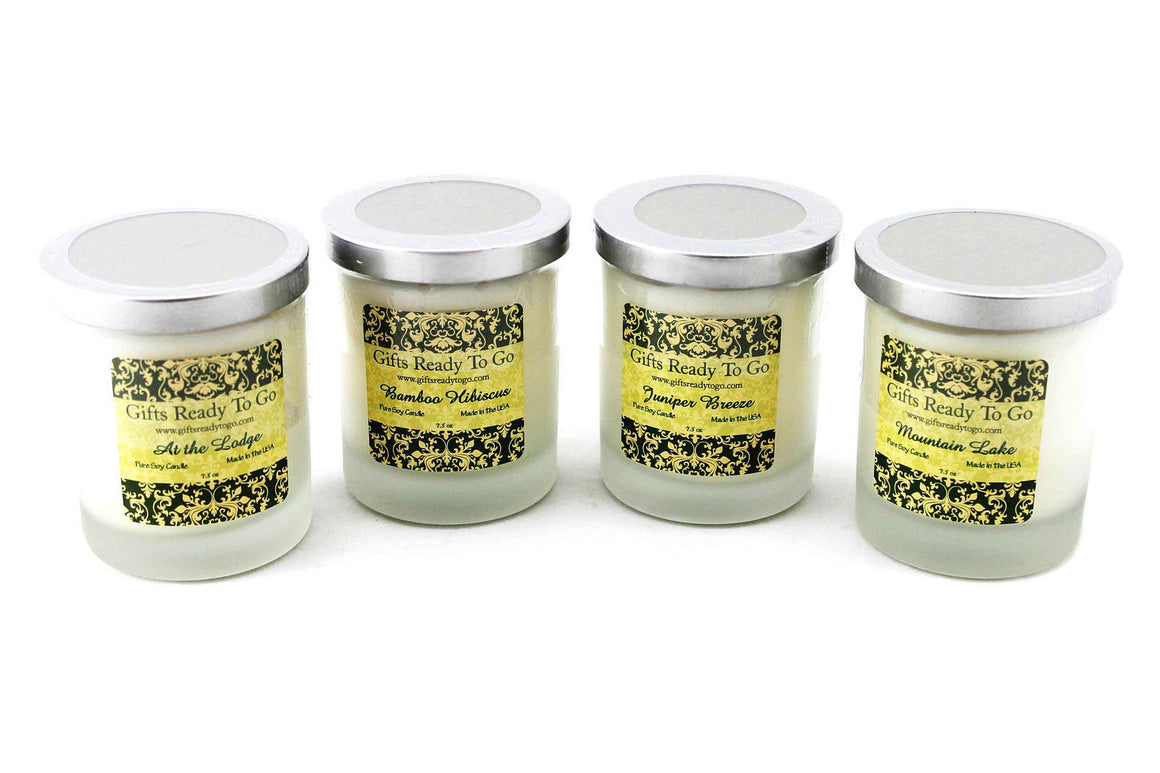 Fragranced Soy Candles - Breeze Collection Gift Set