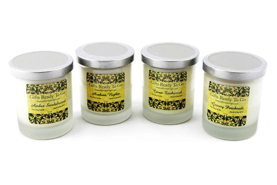 All Natural Soy Candles - Earth Collection Gift Set