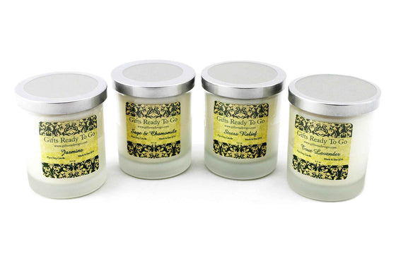 Soy Candles - Stress Relief Collection Gift Set