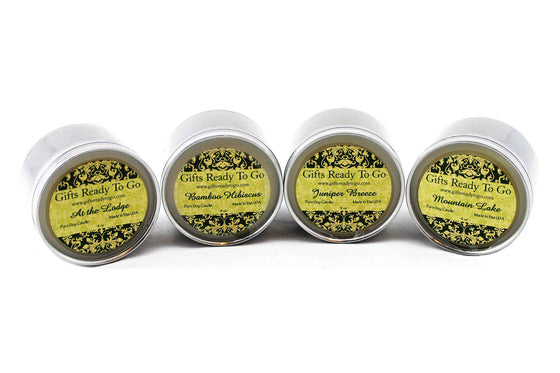 Fragranced Travel Tin Soy Candles - Breeze Collection Gift Set