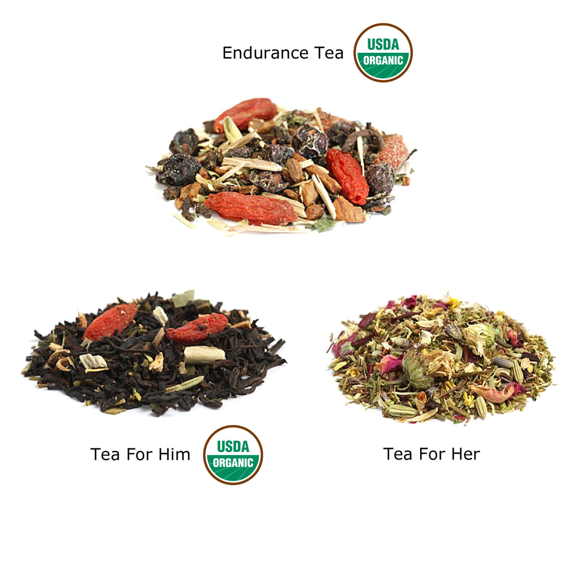 Him, Hers and Endurance Tea Combo Gift