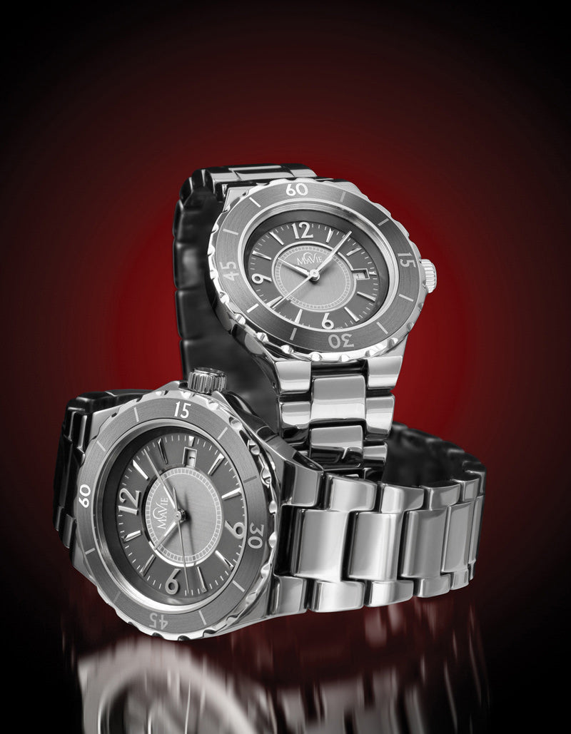 MaVie Galaxy Titanium Ceramic Timepieces available for Men and Women