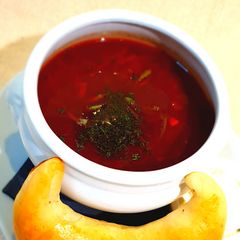 Borscht with Beef (For Reheating) <br> <br> Борщ с говядиной - The Russian Deli