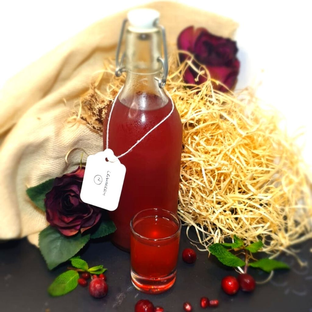 Cranberry Vodka Infusion <br><br> Клюквенная настойка - The Russian Deli