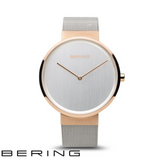 BERING: LADIES CLASSIC POLISHED/BRUSHED ROSE GOLD