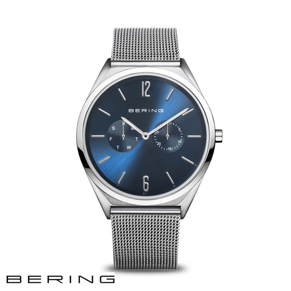 BERING: GENTS ULTRA SLIM SILVER