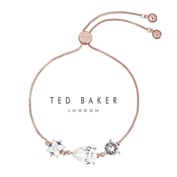 CALLAB: ROSE GOLD CRYSTAL BRACELET