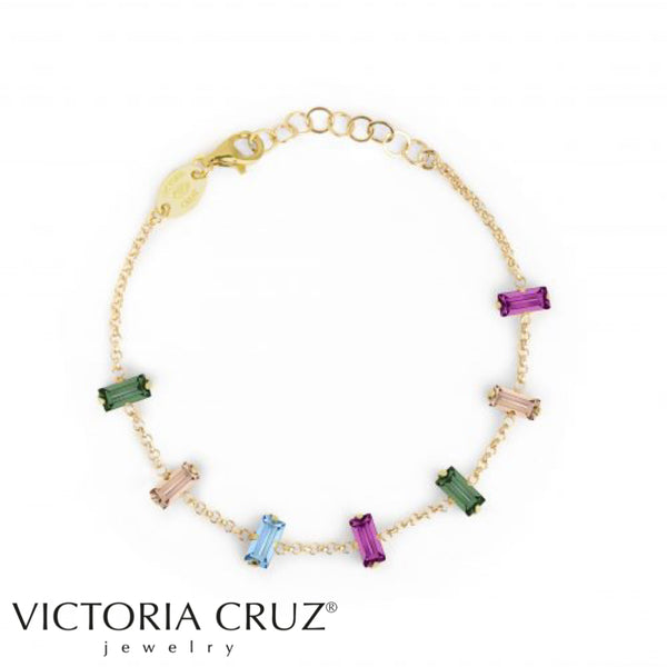 VICTORIA CRUZ: GOLD MACEDONIA BRACELET