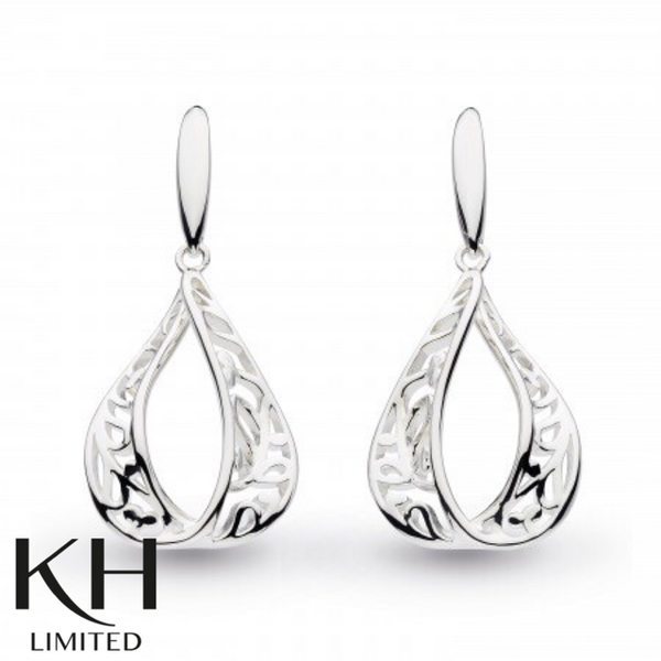 KIT HEATH: BLOSSOM TEAR DROP EARRINGS