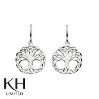 KIT HEATH: HERITAGE WEAVED TREE OF LIFE EARRINGS