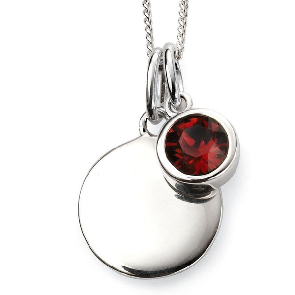 JANUARY BIRTHSTONE SET (GARNET)