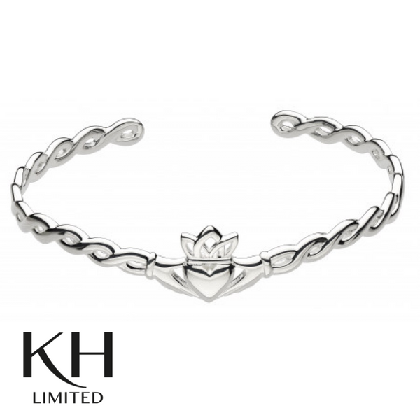 KIT HEATH: HERITAGE CLADDAGH WOVEN BANGLE