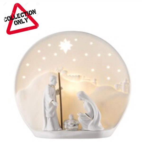 BELLEEK LIVING NATIVITY LUMINAIRE