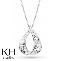 KIT HEATH: BLOSSOM TEAR DROP NECKLACE