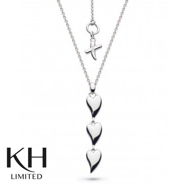 KIT HEATH: HEART KISS NECKLACE