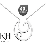 KIT HEATH: OPEN SWIRL PENDANT