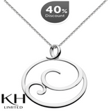 KIT HEATH: SWIRL PENDANT