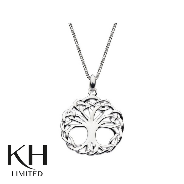 KIT HEATH: HERITAGE WEAVED TREE OF LIFE PENDANT