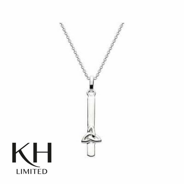 KIT HEATH: HERITAGE CELTIC BAR PENDANT