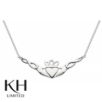 KIT HEATH: HERITAGE CLADDAGH WOVEN NECKLACE