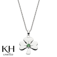 KIT HEATH: HERITAGE GREEN CZ SHAMROCK