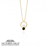 VICTORIA CRUZ: GOLD MANACOR NECKLACE