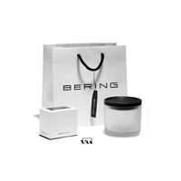 BERING: GENTS BRUSHED SILVER/TITANIUM