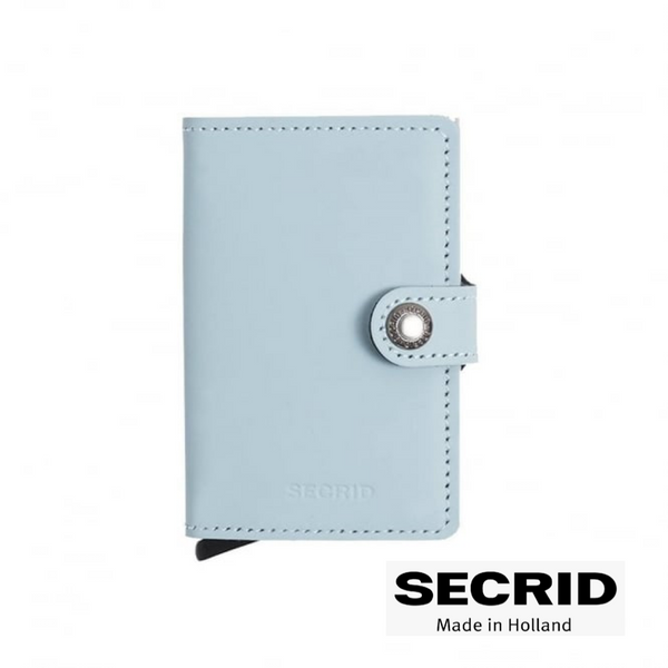 SECRID: MINI WALLET BLUE (MATTE)