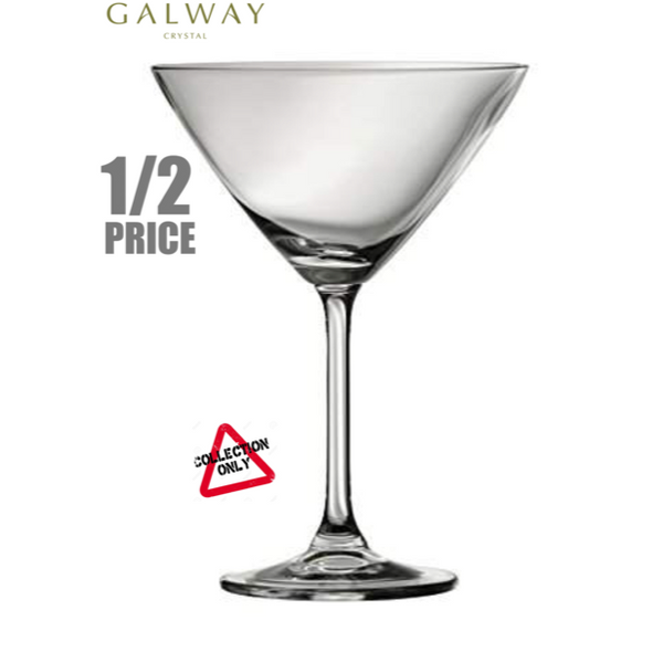GALWAY CRYSTAL: CLARITY MARTINI (SET OF 6)