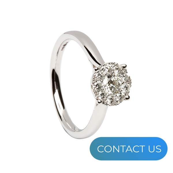 DIAMONDS @ VMJ: ROUND CLUSTER RING